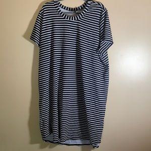Love & Legend Black & White Striped Dress